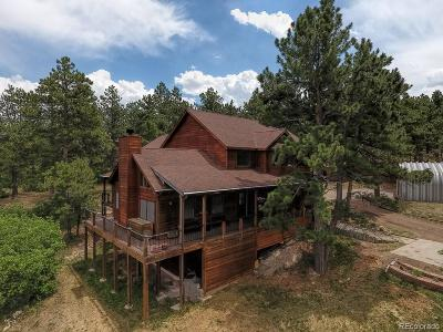 Larkspur CO Single Family Home Under Contract: $745,000