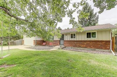 Littleton Single Family Home Active: 6214 West Caley Avenue