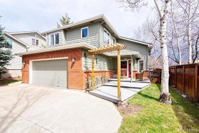 Boulder CO Single Family Home Active: $1,075,000