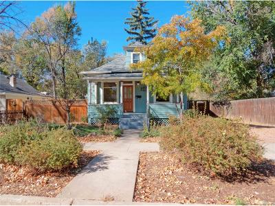 Colorado Springs Single Family Home Active: 226 Willow Street