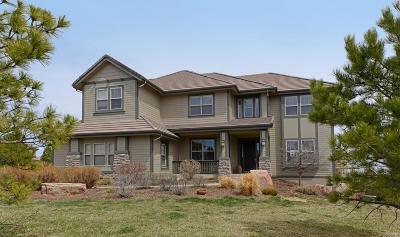 Castle Rock Single Family Home Active: 6241 Mt Sneffels Place