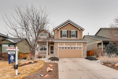 Highlands Ranch Single Family Home Under Contract: 1125 Thornbury Place