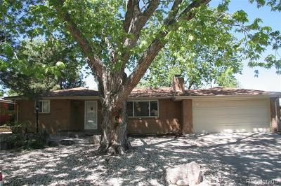 Wheat Ridge Single Family Home Active: 4725 Quay Street