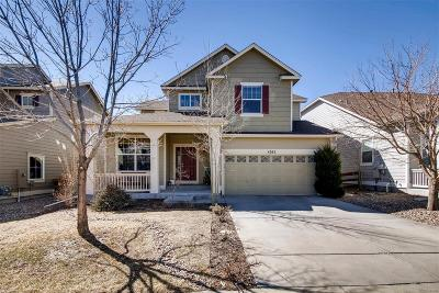 Castle Rock Single Family Home Active: 4282 Abstract Street