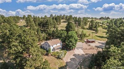 Parker Single Family Home Under Contract: 9135 Piney Creek Road