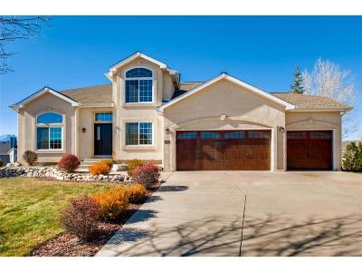 Colorado Springs Single Family Home Active: 12644 Highland Oaks Place