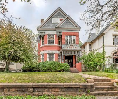 Single Family Home Under Contract: 1629 North Ogden Street