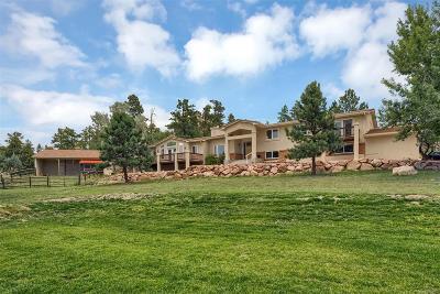 Colorado Springs Single Family Home Under Contract: 7320 Woodmen Mesa Circle