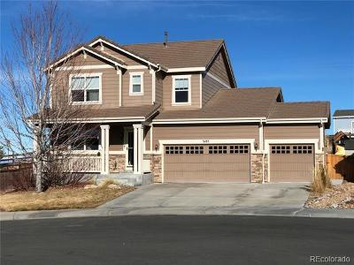 Castle Rock Single Family Home Active: 5185 Lemon Grass Place