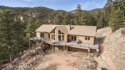 Conifer Single Family Home Under Contract: 13719 Elsie Road