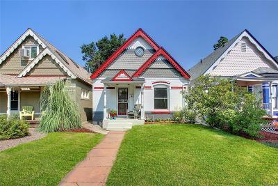 Denver Single Family Home Active: 1268 South Pennsylvania Street