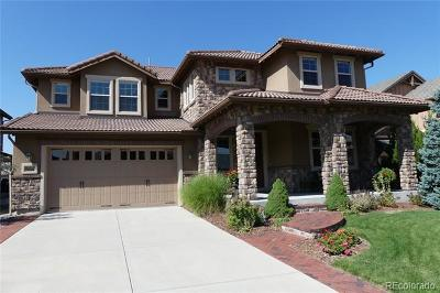 Highlands Ranch Single Family Home Active: 10687 Sundial Rim Road