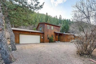 Jamestown Single Family Home Under Contract: 8493 Lefthand Canyon Drive
