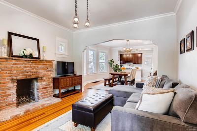 Denver Single Family Home Active: 1529 Dahlia Street