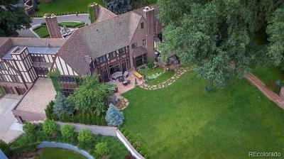 Denver CO Single Family Home Active: $7,800,000