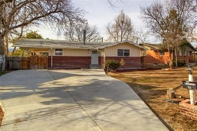Westminster Single Family Home Under Contract: 8021 Tennyson Street