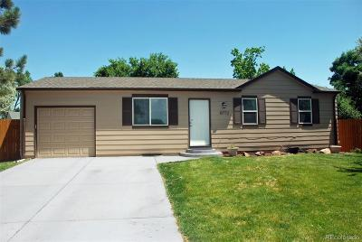 Westminster Single Family Home Active: 10772 Lewis Circle