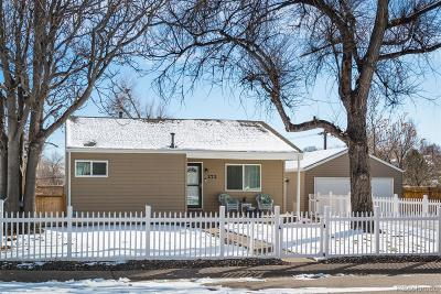 Denver Single Family Home Under Contract: 272 South Xavier Street