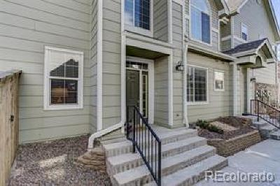 Highlands Ranch Condo/Townhouse Active: 1257 Carlyle Park Circle