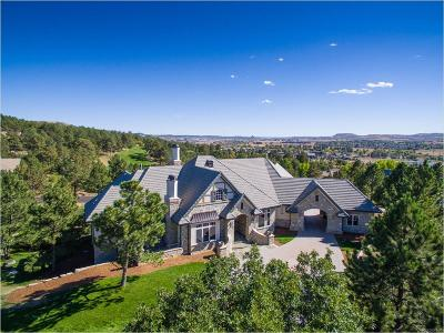 Castle Pines Village, Castle Pines Villages Single Family Home Under Contract: 780 Capilano Court
