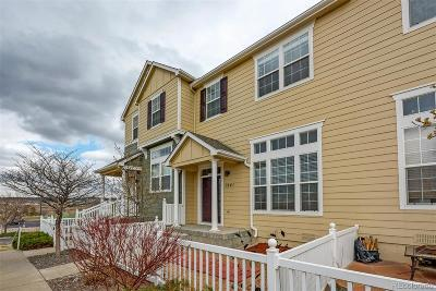 Castle Rock CO Condo/Townhouse Under Contract: $309,900