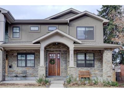 Denver Condo/Townhouse Under Contract: 2073 South Clayton Street