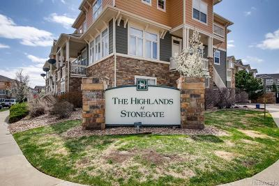 Parker Condo/Townhouse Under Contract: 9351 Amison Circle #103