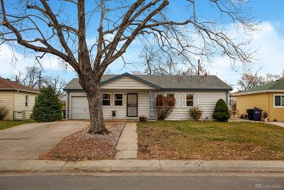 Denver Single Family Home Active: 1579 South Newton Street
