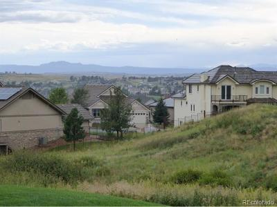 Aurora Residential Lots & Land Active: 22593 East Peakview Place