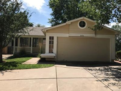 Littleton Single Family Home Active: 8494 South Upham Way