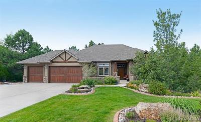 Castle Pines Single Family Home Active: 1319 Woodmont Way
