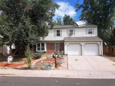 Aurora Single Family Home Active: 15885 East Kepner Drive