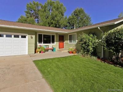 Longmont Single Family Home Active: 12825 Waterbury Road