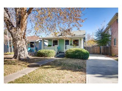Denver Single Family Home Active: 1160 South Steele Street