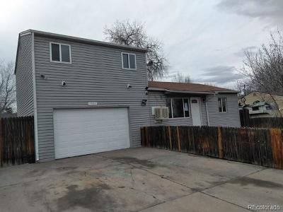 Commerce City Single Family Home Active: 7821 Newport Street