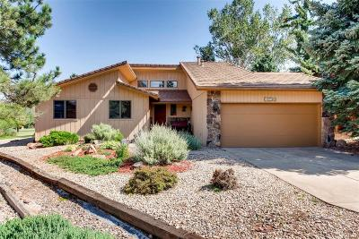 Morrison Single Family Home Under Contract: 15730 Sandtrap Way