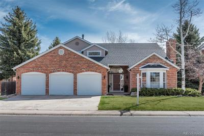 Castle Pines Single Family Home Active: 7350 Brixham Circle