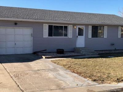 Fort Lupton Single Family Home Under Contract: 907 Cottonwood Court