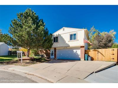 Littleton Single Family Home Active: 9379 West Canyon Place
