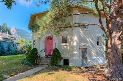 Boulder Single Family Home Active: 821 Lincoln Place