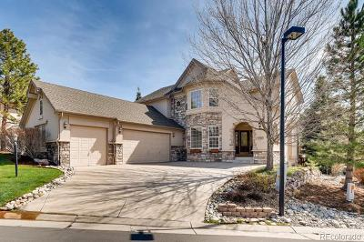 Castle Pines Single Family Home Active: 7260 Forest Ridge Circle