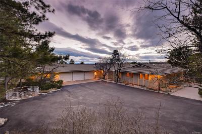 Castle Rock Single Family Home Active: 5569 North Lariat Drive