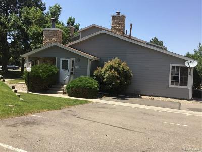 Arvada Condo/Townhouse Under Contract: 8438 Everett Way #D