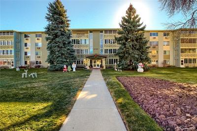Denver Condo/Townhouse Active: 9180 East Center Avenue #2A