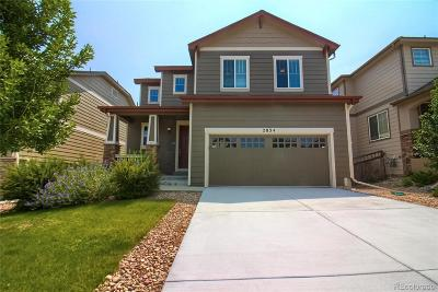 Castle Rock Single Family Home Under Contract: 2834 Open Sky Way