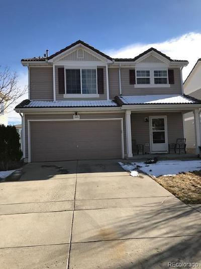 Denver Single Family Home Active: 21476 East 55th Place