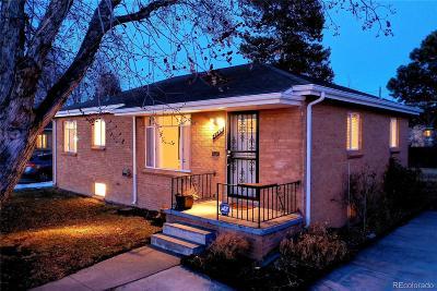 Denver Single Family Home Active: 2136 South Zenobia Street