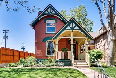 Single Family Home Under Contract: 1545 North Ogden Street
