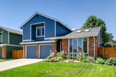 Littleton Single Family Home Active: 11411 Red Cloud Peak