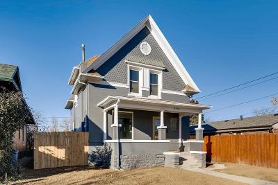 Denver Single Family Home Under Contract: 2749 York Street